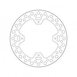 Rear brake disc Brembo HM 450 CRF R SUPERMOTARD 2002 - 2003