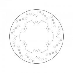 Rear brake disc Brembo DUCATI 696 MONSTER 696 ANNIVERSARY / ABS 2013 -