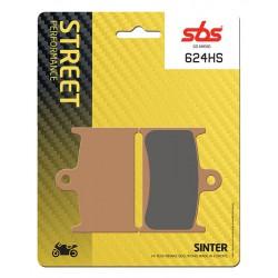 Front brake pads SBS MZ  1000 (MUZ) ST 2007 - 2010 směs HS
