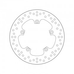Rear brake disc Brembo YAMAHA 800 FZ 8 2010 - 2013