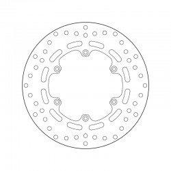 Rear brake disc Brembo MALAGUTI 500 SPYDER MAX RS 2009 -