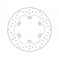 Rear brake disc Brembo YAMAHA 1670 MT 01 2005 -