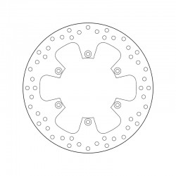 Rear brake disc Brembo BETA 300 RR 2T OIL MIX 2012 -