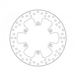Rear brake disc Brembo BETA 498 RR 4T 2013 - 2014