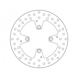 Rear brake disc Brembo DUCATI 1199 PANIGALE 2012 -