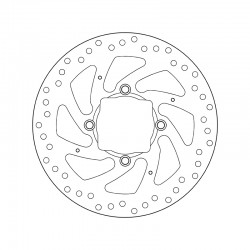 Rear brake disc Brembo DUCATI 1260 MULTISTRADA S D-AIR 2018 -