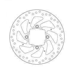 Rear brake disc Brembo DUCATI 1262 XDIAVEL 2016 -