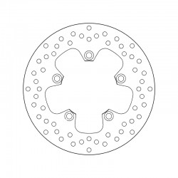 Rear brake disc Brembo YAMAHA 660 MT 03 2006 - 2011