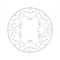 Rear brake disc Brembo YAMAHA 660 XT R 2004 - 2013