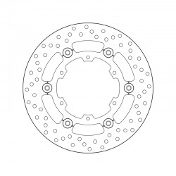 Rear brake disc Brembo KTM 1050 ADVENTURE ABS 2015 - 2016