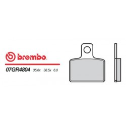 Rear brake pads Brembo Gas Gas 280 TXT 2004 -  type 04