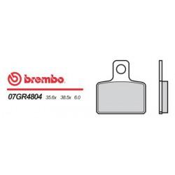 Rear brake pads Brembo Sherco 290 2.9 2001 -  type 04