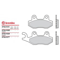 Rear brake pads Brembo Triumph 950 DAYTONA T595 1996 - 1998 type 15