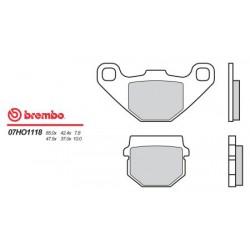 Rear brake pads Brembo HM 50 CRE 1998 - 2005 type 18
