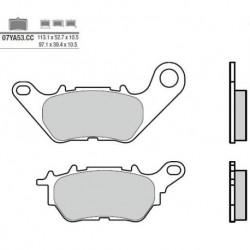 Rear brake pads Brembo Yamaha 321 MT 03 2016 -  type CC