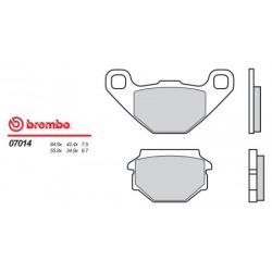 Rear brake pads Brembo Simson 125 RS 2001 -  type OEM