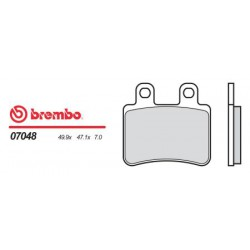 Rear brake pads Brembo Peugeot 600 SATELIS ABS 2004 -  type OEM