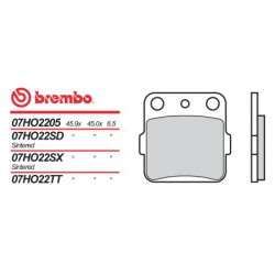 Rear brake pads Brembo Suzuki 230 LT SF-SJ 1985 - 1988 type SD