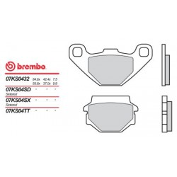 Rear brake pads Brembo Polaris 200 PHOENIX 2005 - 2009 type SD