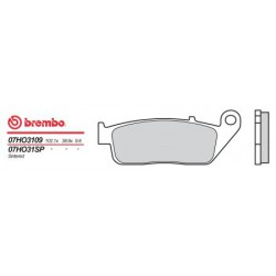Rear brake pads Brembo Triumph 885 THUNDERBIRD SPORT 2004 -  type SP
