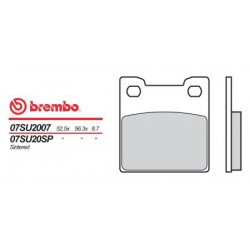 Rear brake pads Brembo Suzuki 900 RF RR 1994 - 1996 type SP