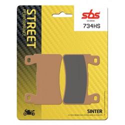 Front brake pads SBS Hyosung GT 650 i Naked 2015 směs HS