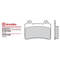 Rear brake pads Brembo Yamaha 1600 WILD STAR 1999 -  type SP