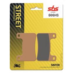 Front brake pads SBS Suzuki M 1800 RBZ Intruder 2016 - 2017 směs HS