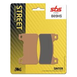 Front brake pads SBS Honda VFR 800 F 2014 - 2016 směs HS