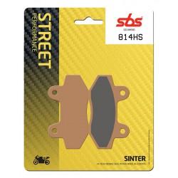 Front brake pads SBS Hyosung GT 650 TTC / Custom Trendkiller 2007 - 2011 směs HS