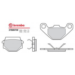 Rear brake pads Brembo Husqvarna 240 WR 1991 -  type TT