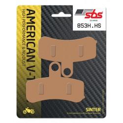 Front brake pads SBS Harley-Davidson FLSTNSE 1802 CVO Softail Deluxe 2014 směs HS