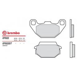 Rear brake pads Brembo Laverda 200 PHOENIX 2001 -  type XS