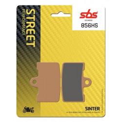 Front brake pads SBS Buell XB12Scg 1200 Lightning 2009 - 2010 směs HS