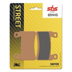 Front brake pads SBS Kawasaki ZX-6R 636 Ninja ABS 2013 - 2019 směs HS