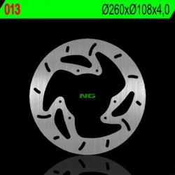 Front brake disc NG Rieju 50 MRT SUPERMOTARD 2012 - 2014