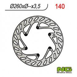 Front brake disc NG Husaberg 125 TE 2011 - 2014