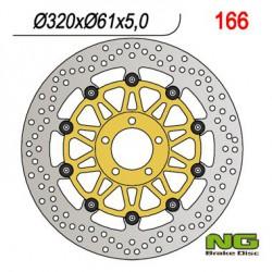Front brake disc NG Kawasaki 1600 M 2004 - 2005