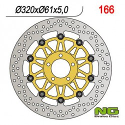 Front brake disc NG Kawasaki 1600 VN MEAN STREAK 2004 - 2008