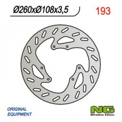 Front brake disc NG Derbi 50 SENDA BLACK DEVIL 2005 - 2007
