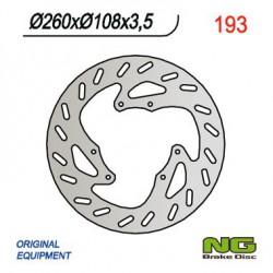 Front brake disc NG Derbi 125 DRD R / DRD R SM 2006