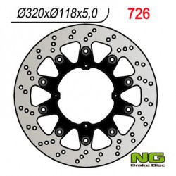 Front brake disc NG Honda 650 XR SUPERMOTARD 2007 - 2008
