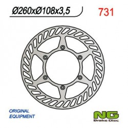 Front brake disc NG Gas Gas 200 EC SIX DAYS 2T 2010 - 2011