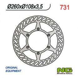Front brake disc NG Gas Gas 200 EC RACING 2T 2012 - 2015