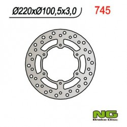 "Front brake disc NG Suzuki 85 RM 17"" / 14"" wheels 2005 - 2014"