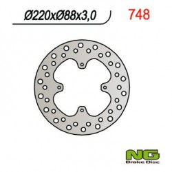 Front brake disc NG Honda 80 CR R 1986 - 1995