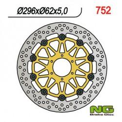 Front brake disc NG Honda 1833 GL GOLD WING 2001 - 2019