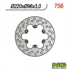"""Front brake disc NG Kawasaki 85 KX I 17"""" / 14"""" / KX II 19""""/ 16"""" 2000 - 2019"""