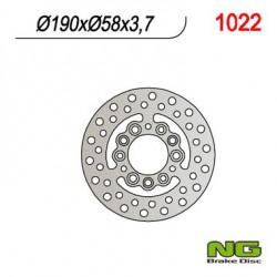 Front brake disc NG Daelim 125 BESBI 2011 - 2012