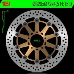 Front brake disc NG Ducati 749 749 / 749 R / 749 S 2003 - 2007